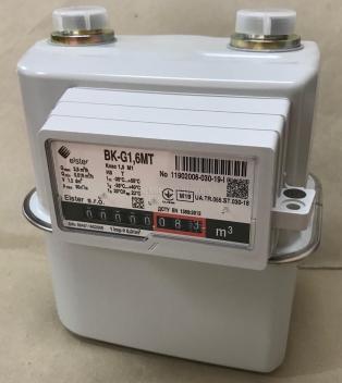 Счетчик газа Elster BK G1,6MT