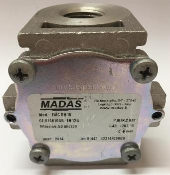 Фильтр газа MADAS FМС 2 bar