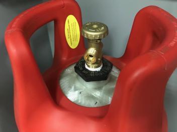 Баллон газовый композитный SAFEGAS 24л