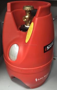Баллон газовый композитный SAFEGAS 5 литров