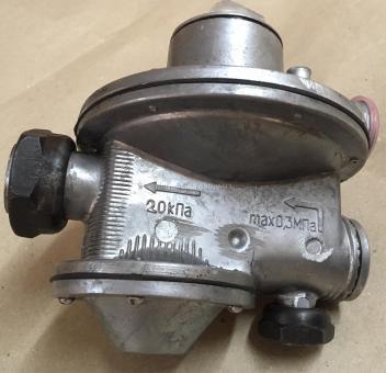 Регулятор давления газа РДГС-10