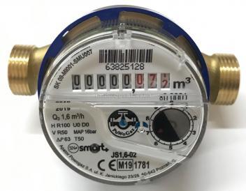 Счетчик воды APATOR Powogaz Smart+ JS-1,6 ХВ