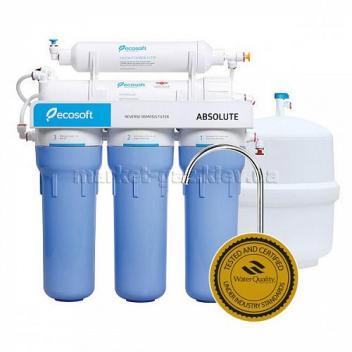 Купить Фильтр обратного осмоса Ecosoft Absolute
