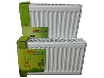 Стальной панельный радиатор отопления тип 22 Terra teknik 300НП