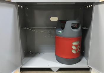 Шкаф для хранения газовых баллонов 27 литров (2 шт)